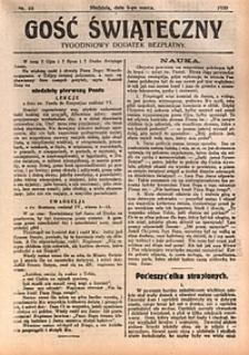 Gość Świąteczny, 1930, nr10