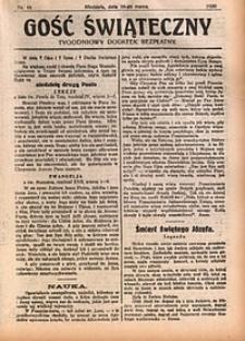 Gość Świąteczny, 1930, nr11