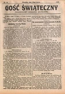 Gość Świąteczny, 1930, nr12