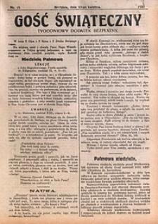 Gość Świąteczny, 1930, nr15