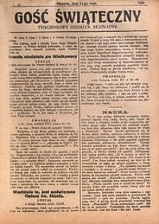 Gość Świąteczny, 1930, nr18