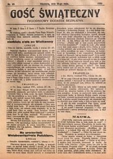 Gość Świąteczny, 1930, nr20