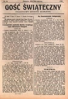 Gość Świąteczny, 1930, nr22