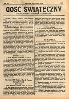 Gość Świąteczny, 1930, nr27