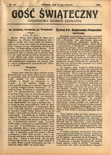 Gość Świąteczny, 1930, nr34