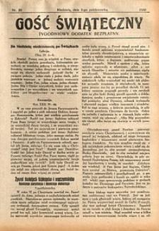 Gość Świąteczny, 1930, nr39