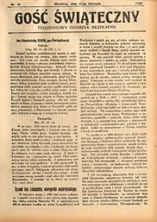 Gość Świąteczny, 1930, nr45