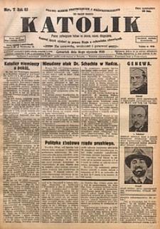 Katolik, 1930, R. 63, nr7