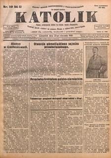 Katolik, 1930, R. 63, nr10