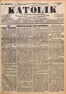 Katolik, 1930, R. 63, nr40