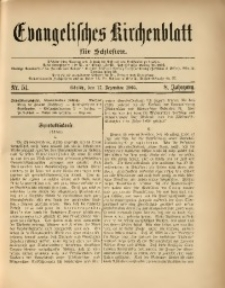 Evangelisches Kirchenblatt für Schlesien, 1905, Jg. 8, Nr. 51