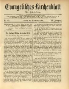 Evangelisches Kirchenblatt für Schlesien, 1910, Jg. 13, nr 42