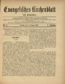 Evangelisches Kirchenblatt für Schlesien, 1906, Jg. 9, Nr. 2
