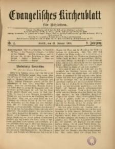 Evangelisches Kirchenblatt für Schlesien, 1906, Jg. 9, Nr. 4
