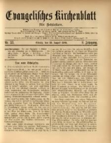 Evangelisches Kirchenblatt für Schlesien, 1906, Jg. 9, Nr. 33