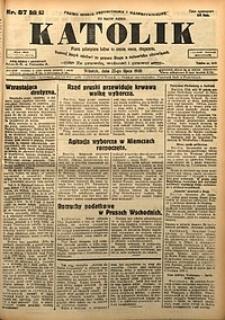 Katolik, 1930, R. 63, nr87
