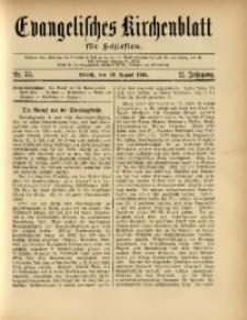 Evangelisches Kirchenblatt für Schlesien, 1908, Jg. 11, nr 35