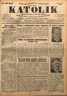 Katolik, 1930, R. 63, nr92