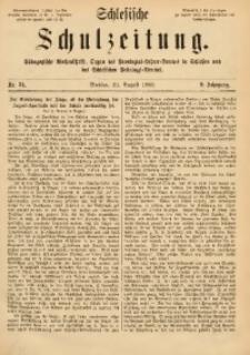Schlesische Schulzeitung, 1880, Jg. 9, Nr. 34