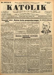 Katolik, 1930, R. 63, nr102