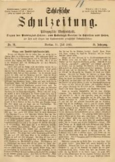 Schlesische Schulzeitung, 1885, Jg. 14, Nr. 31