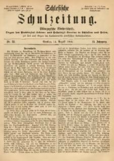 Schlesische Schulzeitung, 1885, Jg. 14, Nr. 33
