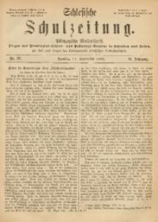Schlesische Schulzeitung, 1885, Jg. 14, Nr. 37