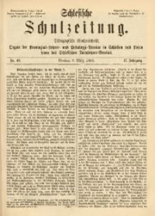 Schlesische Schulzeitung, 1888, Jg. 17, Nr. 10