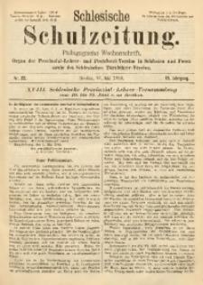 Schlesische Schulzeitung, 1889, Jg. 18, Nr. 22