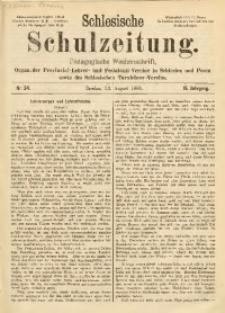 Schlesische Schulzeitung, 1889, Jg. 18, Nr. 34