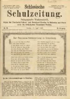 Schlesische Schulzeitung, 1890, Jg. 19, Nr. 15