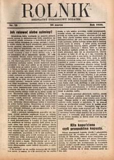 Rolnik, 1930, [R. 28], nr12