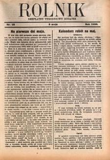 Rolnik, 1930, [R. 28], nr18