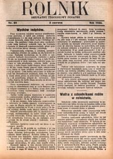 Rolnik, 1930, [R. 28], nr22
