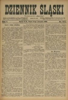 Dziennik Śląski, 1898, R. 1, nr 264