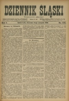 Dziennik Śląski, 1898, R. 1, nr 269