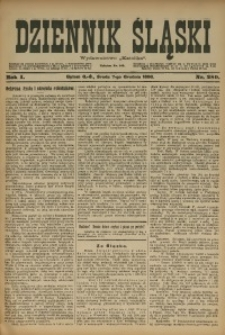 Dziennik Śląski, 1898, R. 1, nr 280