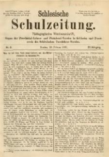 Schlesische Schulzeitung, 1891, Jg. 20, Nr. 8
