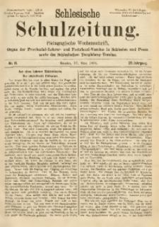 Schlesische Schulzeitung, 1891, Jg. 20, Nr. 11