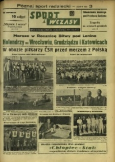 Sport i Wczasy, 1949, R. 3, nr 82