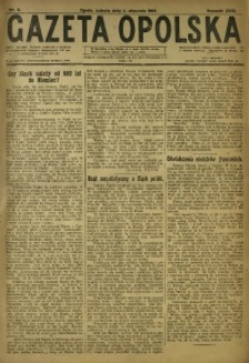 Gazeta Opolska, 1919, R. 29 [właśc. 30], nr 2