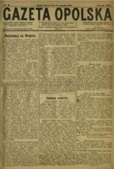 Gazeta Opolska, 1919, R. 29 [właśc. 30], nr 10