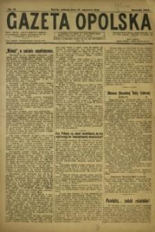 Gazeta Opolska, 1919, R. 29 [właśc. 30], nr 13