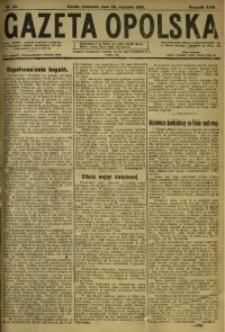 Gazeta Opolska, 1919, R. 29 [właśc. 30], nr 23