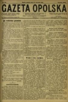 Gazeta Opolska, 1919, R. 29 [właśc. 30], nr 24