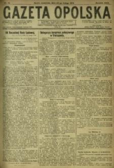 Gazeta Opolska, 1919, R. 29 [właśc. 30], nr 41