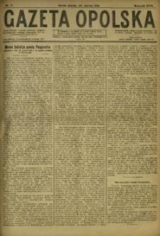 Gazeta Opolska, 1919, R. 29 [właśc. 30], nr 71
