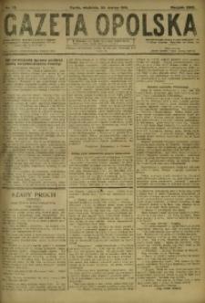 Gazeta Opolska, 1919, R. 29 [właśc. 30], nr 73