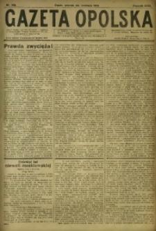 Gazeta Opolska, 1919, R. 29 [właśc. 30], nr 142