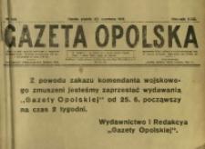 Gazeta Opolska, 1919, R. 29 [właśc. 30], nr 145